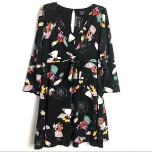 City chic floral dresses long sleeve Size M/18